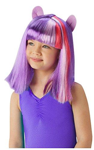 Rubie \'s Offizielle My Little Pony Twilight Sparkle Perücke Kind Fancy Kleid Accessory (One Size)
