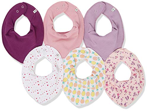 Care Baby Halstücher,Mehrfarbig (Rose 510), One Size (Herstellergröße:OneSize), 6er-Pack