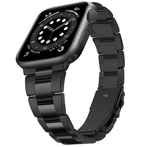 Fullmosa Bracelet de Montre Compatible avec Apple Watch SE 6 5 4 3 2 1, Bracelet de Remplacement pour iWatch 38 mm 40 mm 42 mm 44 mm, Bracelet de Montre Homme pour Iwatch SE/6,Bracelet pour Femme