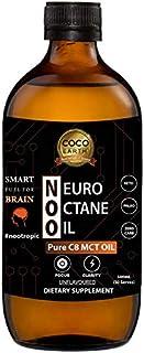 COCO EARTH Neuro Octane Oil - Pure C8 Caprylic | Smart fuel for Brain, 500 milliliters