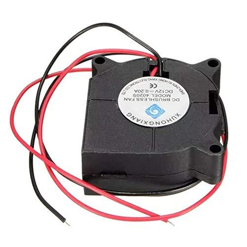 Ventilador de enfriamiento radial 12V DC para impresora 3D RepRap Hotend extrusora impresora 3D