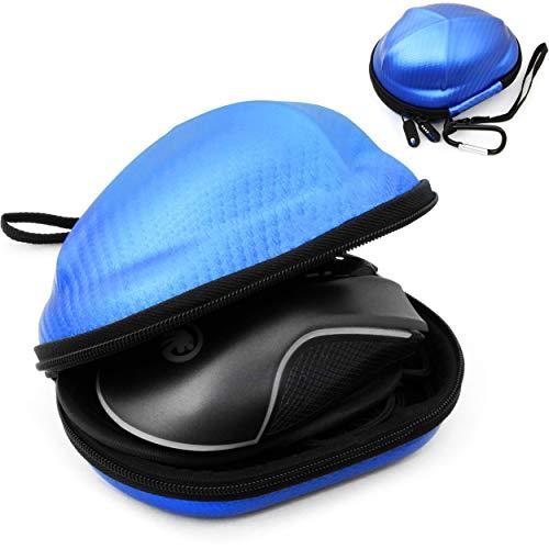 CASEMATIX Esports Mouse Case for Gaming Mice - Compatible with Logitech G Pro, G502, G600, G602, G903 / Razer Mamba, DeathAdder Elite, Naga Trinity, Viper/Corsair Harpoon, M65 & More! Blue Color