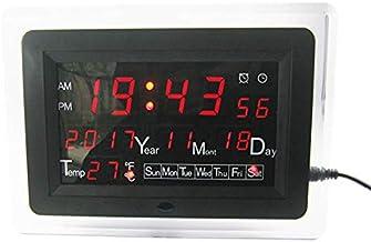 Electronic Module Electronic Calendar Soldering Kit High Precision DIY Clock Kit ECL-1227 12/24 Hour C/F Switchble DC9-12V...