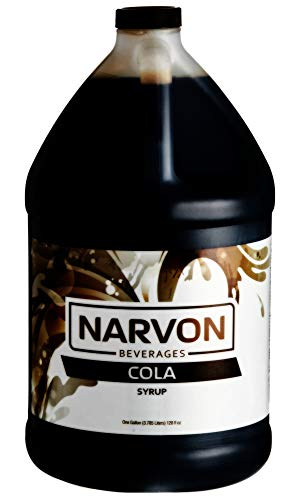 Cola Concentrated Syrup Narvon 1 Gallon
