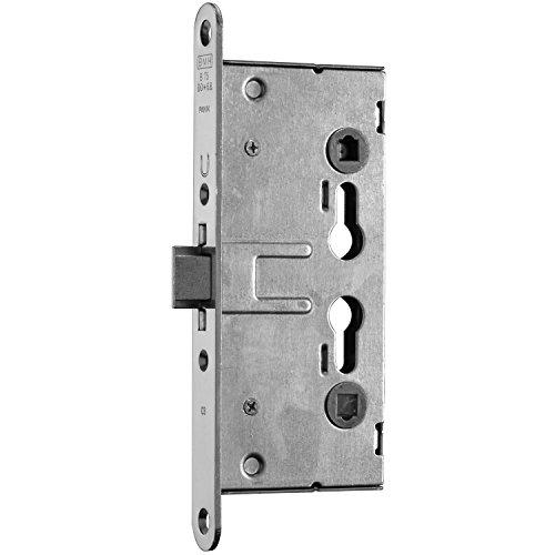 SECOTEC Tür-Einsteckschloss feuerhemmend DIN Profil-Zylinder mit Wechselfunktion Dornmaß 65mm, 1 Stück