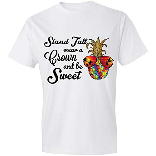 Stand Tall, Wear A Crown and Be Sweet Tie-Dye Pineapple, Hippie Girl, Summer Is Coming, Back To School, Funny School Gifts - Nalh13112016 T-Shirt,Gift