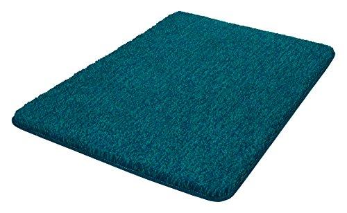 Kleine Wolke Badteppich Seattle / 60 x 90 cm/Farbe Pazifik Alfombrilla de baño, poliéster, 60x90x3 cm