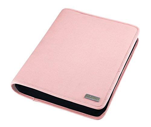 MAZZ iBinder - Zippered Binder for Tablet Devices With up to 11-Inch Screen Display, Pink