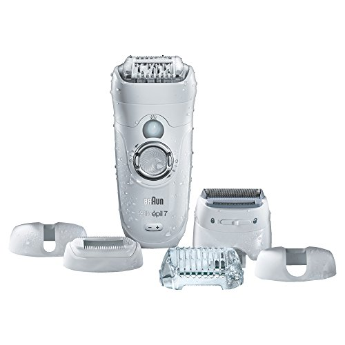 Braun Silk-Epil 7 7-561 Wet and Dry Epilator Epilator with 8 Extra