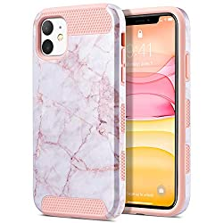 top 10 ulak hybrid case ULAK case for iPhone 11, slim and shock-resistant cell phone case with robust PC hybrid case for women and girls, …