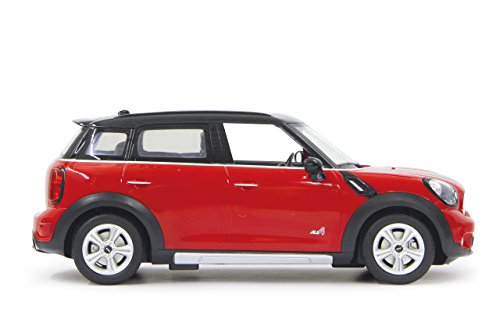 JAMARA 405000 - Mini Countryman 1:14 27MHz - offiziell lizenziert, bis 1 Std. Fahrzeit bei 11 Kmh, LED, Perfekt nachgebildete Details, detaillierter Innenraum,hochwertige Verarbeitung