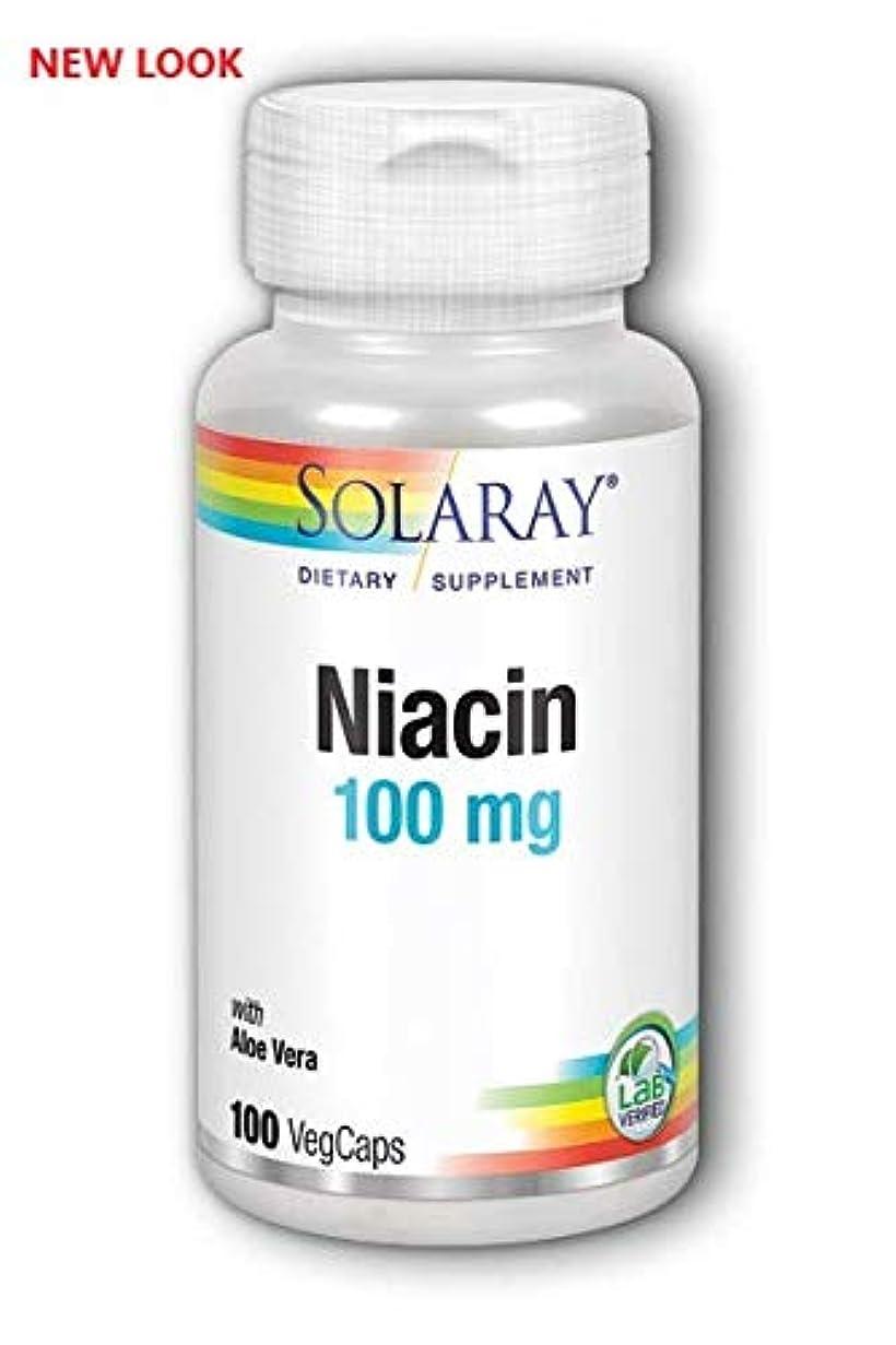 リーズエントリ確認するSolaray - ナイアシン Niacin 100 mg 100カプセル [並行輸入品]