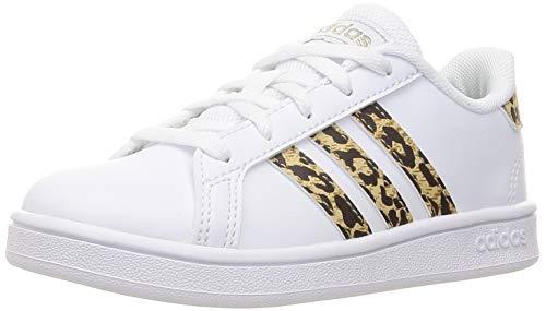 adidas Grand Court, Sneaker, Cloud White/Cloud White/Champagne Metallic, 36 EU
