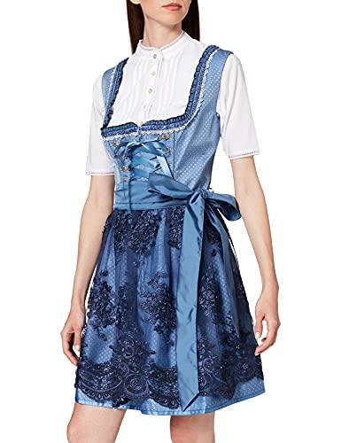 Stockerpoint Damen Beliva Kleid, blau, 44