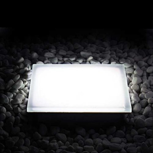 Outdoor LED Leuchtpflasterstein, BASE Square, 10x10x7cm, Lichtfarbe Farbwechsel RGB, IP67, 24VDC, 1,3W