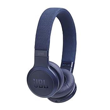 JBL LIVE 400BT On-Ear Wireless Headphones Blue