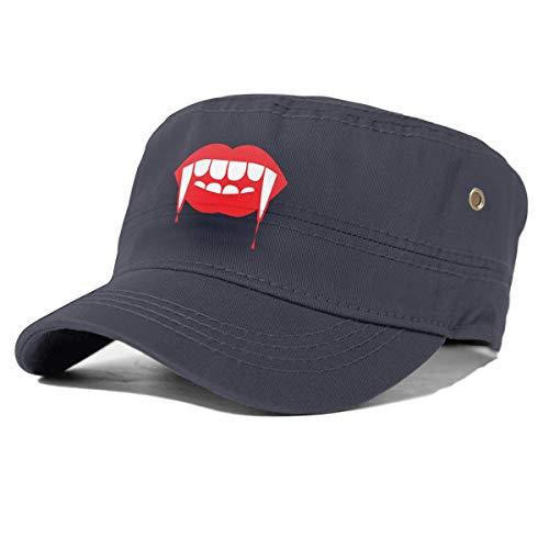Generic Zombie-Zähne und Lippen Einstellbare Adult Snapback Hat Baseball Cap Navy
