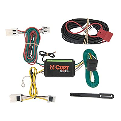 CURT 56148 Vehicle-Side Custom 4-Pin Trailer Wiring Harness, Fits Select Nissan NV1500, NV2500, NV3500 by Curt Manufacturing