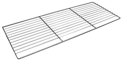 SunshineBBQs Stainless Steel DIY Brick Built in BBQ Kit for Charcoal – 67cm x 40cm Grill