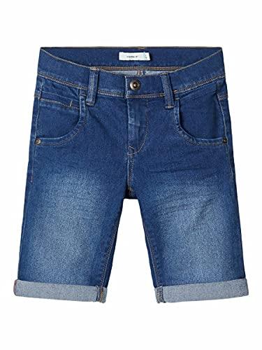 Name It Nkmsofus Dnmtax 2012 Long Shorts Noos, Bleu (Medium Blue Denim Medium Blue Denim), 128 Garçon