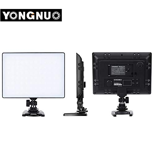 MeterMall Useful YONGNUO YN300 Air Led Video Light Photo Studio Light Camera Light Photography Lighting for Canon Nikon Pentax Sony Olympus YN300 Air