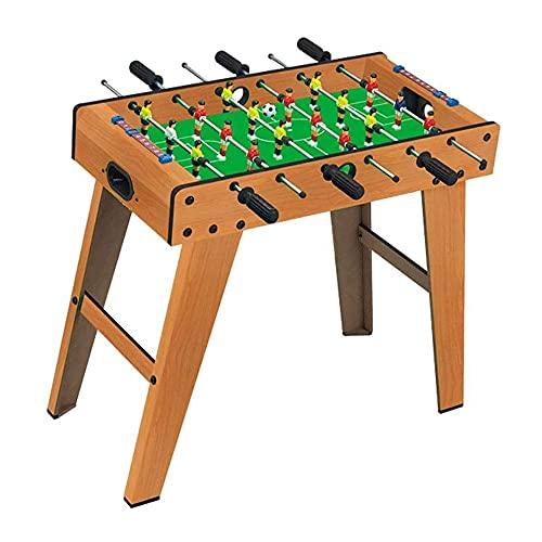 XXCC Foosball-Holztischtischtisch, Fußballspiel Mit Zwei Bällen Und Score-Keeper, Tragbarer Mini-Tischfußball, Für Erwachsene Und Kinder, 69x37x65cm, 69x37x65cm