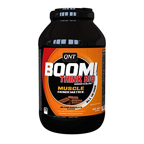 QNT Boom Muscle Gainer Chocolate 3 kg