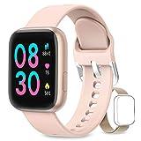 AIMIUVEI Smartwatch, Reloj Inteligente Mujer Hombre IP67 con Pulsómetro, 1.4 Inch Smartwatch...