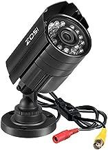 ZOSI 1080P 4-in-1 HD TVI/CVI/AHD/CVBS 1920TVL 2.0MP Hi-Resolution CCTV Camera Home Security System 65ft Day/Night Vision for HD-TVI, AHD, CVI, and CVBS/960H Analog DVR (Renewed)