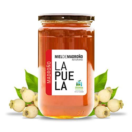 LAPUELA Miel de Madroño. Miel tradicional de origen natural desde Asturias -...