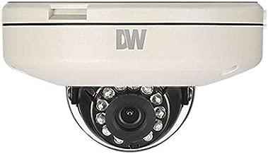 DIGITAL WATCHDOG MEGApix Flat Vandal Dome Camera, 4.0mm Fixed Lens, 50ft Range IR, OnVIF Compliant, True D&N, 2.1 Megapixels / DWC-MF21M4TIR /