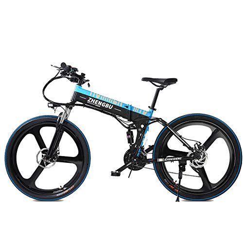 MERRYHE 27 velocità Full Suspension E-Bike 400W