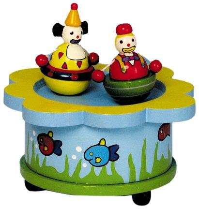 Music Box World 43720 Les Clowns dansants Mélodie Send in The Clowns