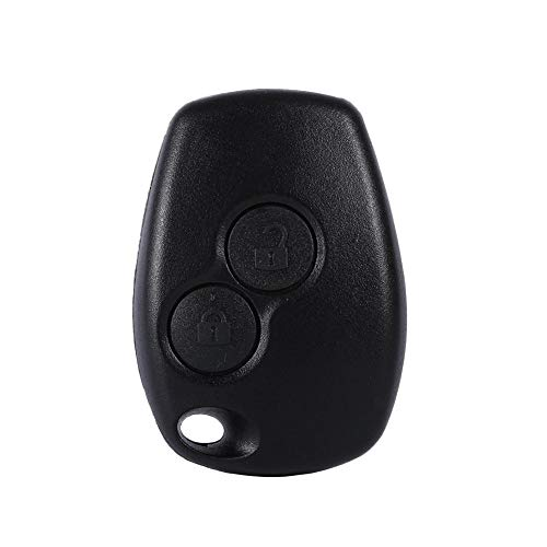 Remoto 2 botones Auto Car Key Fob Shell Funda para Kangoo Modus Master