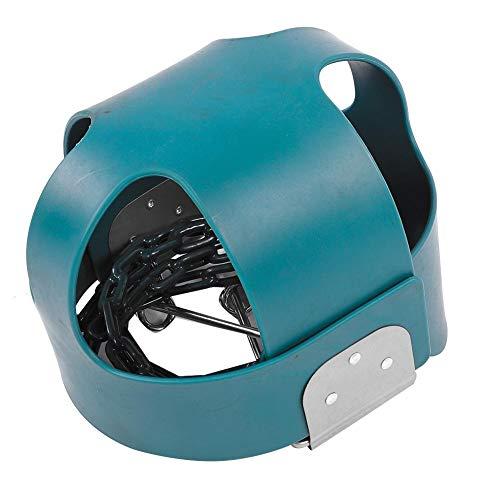 Wakects - Silla de columpio para niños, asiento de columpio para niños, asiento de columpio para jardín, totalmente montado para interior y exterior, color verde