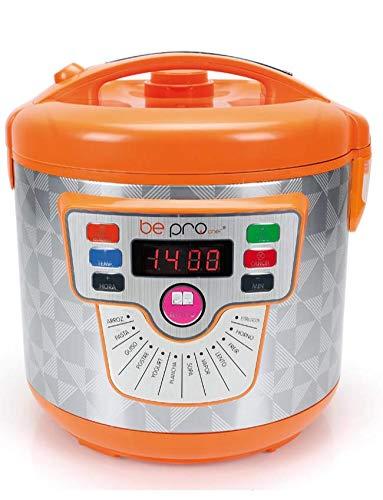 BE PRO Robot de Cocina Chef Delicook con Cubeta Daikin Gold. 14 Menús. 3 Potencias. 5 L de Capacidad