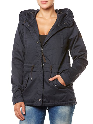 ONLY Damen onlTODAY AW PARKA JACKET CC OTW Jacke, Blau (Blue Graphite), 40 (Herstellergröße: L)
