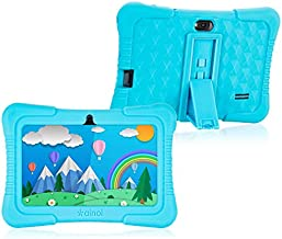 Apobob 7 Inch Tablets for Kid, Tablet PC for Kids, 1 + 16GB, IPS HD Kids Tablet, Quad Core Android 8.1 Kid Tablet with Parental Control Educational, WiFi System, GMS Certified, Shockproof Case(Blue)