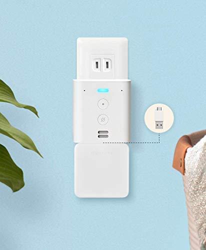 Echo Flex (エコーフレックス) プラグイン式スマートスピーカー with Alexa + スイッチボット スマートホーム 学習リモコン Hub Mini + 専用USBコネクター