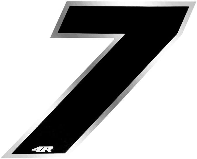 Quattroerre Racing Number 6 Anodized Small Red