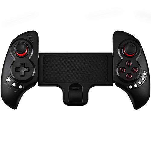 QCHEA Controlador de Juegos inalámbrico Bluetooth telescópico Gamepad for Samsung Galaxy Note HTC LG Android Tablet PC
