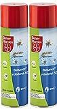 PROTECT HOME - Insecticida Mata Mosquitos Moscas y Otros Insectos voladores con acción Choque y Efecto prolongado – Spray 500Ml – Pack de 2 Unidades.