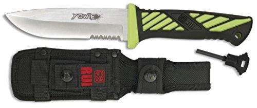 Martinez Albainox Yowie Rui Serie Energy Neon Green Messer Survival Feuerstarter
