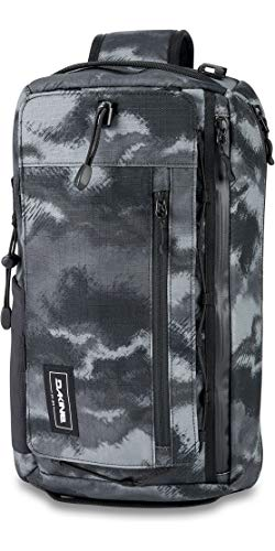 Dakine Mission Surf Deluxe 15L 15 Litre Capacity Wet Dry Sling Pack - Dark Ashcroft Camo - Breathable Waterproof Sprayproof