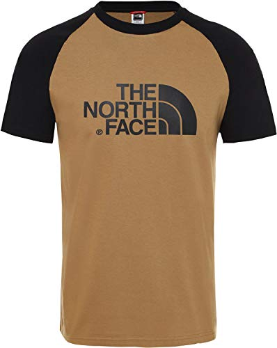 THE NORTH FACE Herren M SS Raglan Easy Tee British Khaki, L