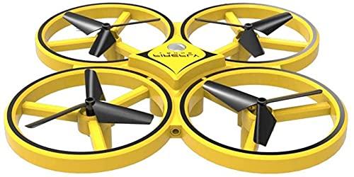 ZHANGDAGE Gesto Telecomando Quadcopter Illuminazione Interattiva A Induzione Aereo Telecomando Intelligente Drone Galleggiante Giocattolo, Il Miglior Compleanno per I Bambini