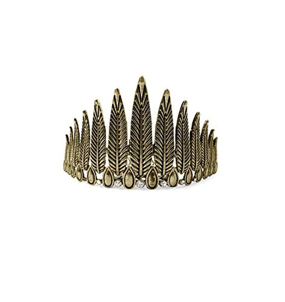 Kitsch Feather Bun Pin, Gold, 0.1 Ounce