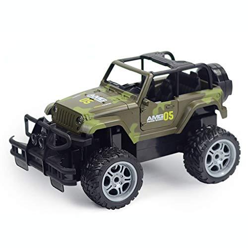 CR Car AP RC Voiture télécommandée Camion 4WD Tout Terrain Hors Route 2,4 Ghz avec Batteries Rechargeables ArmyGreen