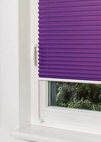 Plissee Violett HOME-VISION - 3