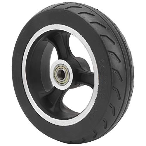Eosnow Neumático sólido, Rueda no Inflable Neumático a Prueba de explosiones Accesorios para patinetes eléctricos 6 Pulgadas para carritos y patinetes para niños
